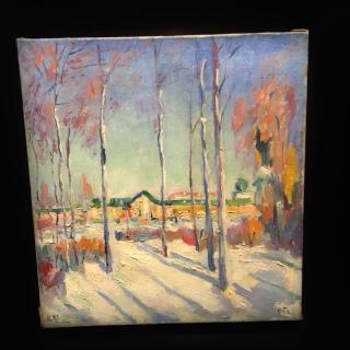 Kazmir Malevich - Winter Landscape
