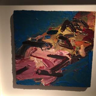 Frank Auerbach - Reclining Head of Julia