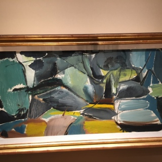 Ivon Hitchens - Trees and Bushes