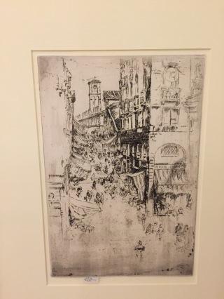 J M Whistler - The Rialto