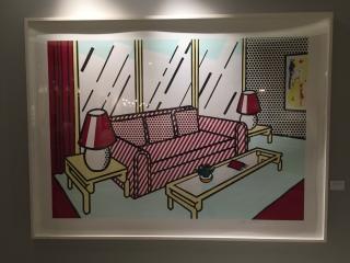 Roy Lichtenstein - With Lamps