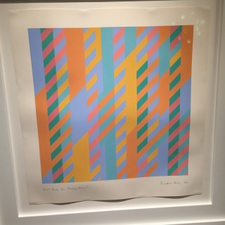 Bridget Riley - First Study for Fleeting Moment