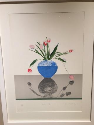 David Hockney - Pretty Tulips