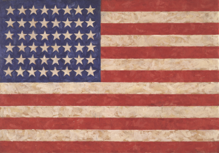 Flag - Jasper Johns
