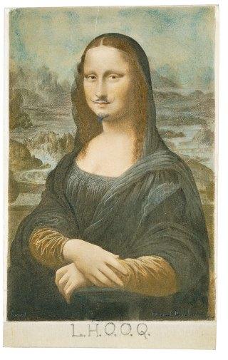 L.H.O.O.Q - Duchamp