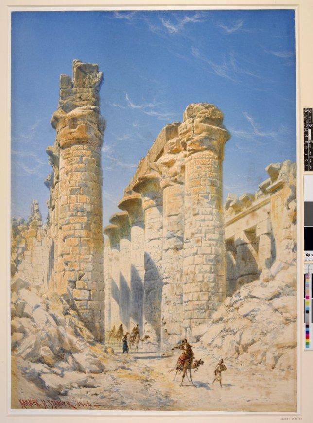 Karnak Temple, Henry Stanier (1860s)