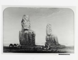 Colossus of Memnon, Henry Stanier (1860s)