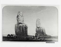 Colossus of Memnon, Henry Stanier (1860s)
